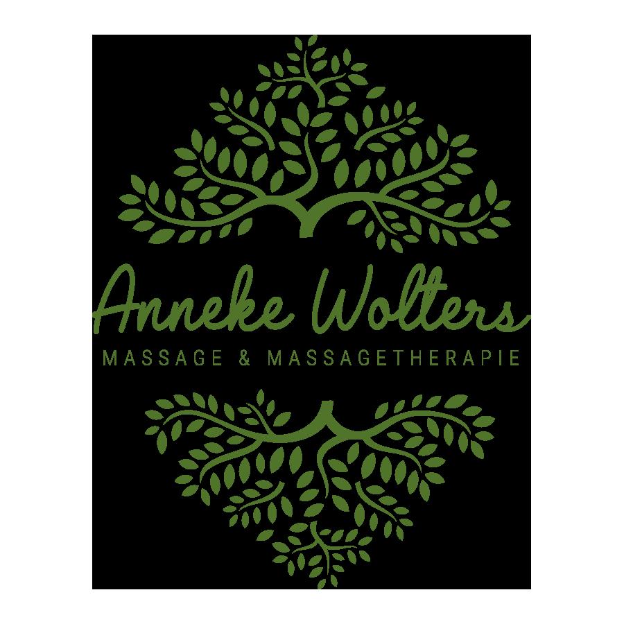 Logo Anneke Wolters Massage & Massagetherapie